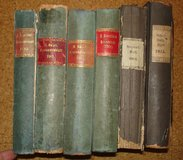 Very old books about Upper Palatinate (Oberpfalz), 1883 - 1915 in Grafenwoehr, GE