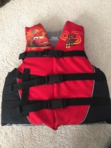 Boys (Cars)  Lifejacket youth 50-90 lbs in Bolingbrook, Illinois