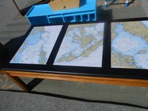 Nautical Themed Coffee Table in Cherry Point, North Carolina
