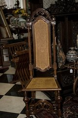 Vintage FRENCH Church Chair CANE at 19 Ct. in Stuttgart, GE