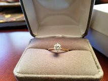 Diamond Solitaire Engagement Ring in Byron, Georgia