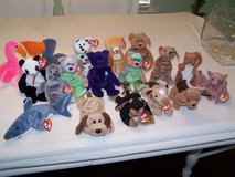 TY Beanie babies/set of 17 in Camp Lejeune, North Carolina