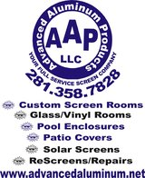 Aluminum/Screen Installers Needed in Spring, Texas