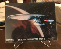1992 Star Trek USS Enterprise LaserSculpture in Naperville, Illinois