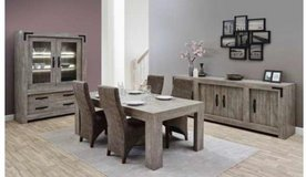 Montebaur Dining Set - China + Table + 4 Chairs including delivery - see VERY IMPORTANT below in Spangdahlem, Germany