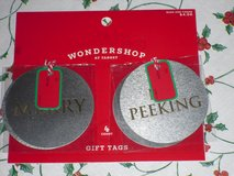 new 4pk metal gift tags in Bolingbrook, Illinois