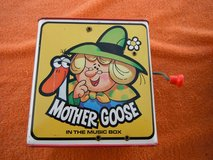"1971 MATTEL ""Mother Goose"" Jack-in-the-Box, tin litho Toy in Yucca Valley, California"