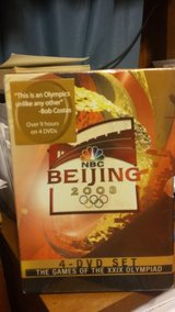 4 DVD set on the Beijing Olympics from 2008 in Fort Campbell, Kentucky