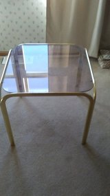 Glass coffee table in Chicago, Illinois