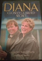 DIANA CLOSELY GUARDED SECRET HARD BACK BOOK in Ramstein, Germany