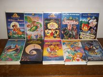 10 Kids VHS Movies in Fort Campbell, Kentucky