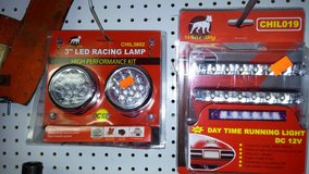 Racing lights. Running lights LEd in Yucca Valley, California