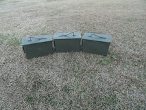 ammo cans in Camp Lejeune, North Carolina