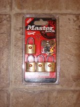 Master Lock travel lock set in Fort Campbell, Kentucky