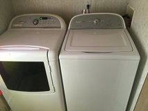 #2 Whirlpool Cabrio h2low (He) set (works like new) in Camp Lejeune, North Carolina