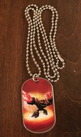 Skylanders Dog Tag in Yorkville, Illinois