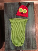 """Handmade Crocheted """"Hungry LiL Caterpillar photo prop in Lawton, Oklahoma"""