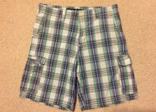 Men's CLUB POLO SHORTS Sz 32 in Tinley Park, Illinois