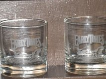 pr. etched early times rock glasses in Naperville, Illinois