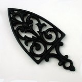 BLACK CAST IRON CATHEDRAL TRIVET in Naperville, Illinois