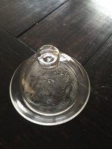 Princess house crystal butter dish in Fort Bragg, North Carolina