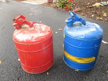 5 GALLON GAS CANS in Lockport, Illinois