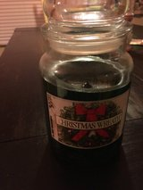 3/4 Full Yankee Christmas Wreath Candle in Fort Bragg, North Carolina