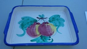 TERRACOTTA LARGE OVEN DISH-MADE IN ITALY AND HANDPAINTED in Wilmington, North Carolina