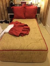Two Custom made Comforters and bedding sets, never used in Joliet, Illinois