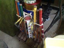 Vintage Croquet set with cart in Glendale Heights, Illinois