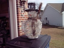 Grapevine Snowman in Camp Lejeune, North Carolina