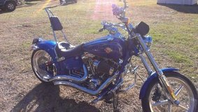 Check this Harley out.  A Classic.  Very nice shop kept Harley Davidson Rocker C With Extras in Leesville, Louisiana