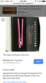 Evelution flat iron in Leesville, Louisiana
