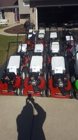 Lawnmowers. Sales and repair in Naperville, Illinois