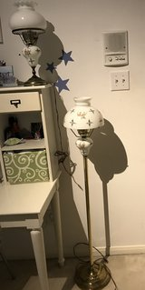 Hurricane Floor Lamp with matching Desk Lamp in Pearland, Texas