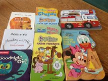 8Toddler Cardboard Books 1 paper (9 total) in Fort Campbell, Kentucky