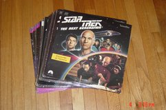 Star Trek Next Generation 7 seasons Laserdiscs in Orland Park, Illinois