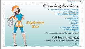 Part time cleaning in Beaufort, South Carolina
