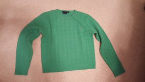 Ralph Lauren Green Lime Cable Wool Sweater in Aurora, Illinois