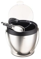 ***REDUCED***Stainless Steel & Black OXO Ice Bucket***NEW in Kingwood, Texas