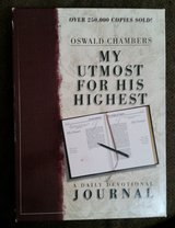 Oswald Chambers My Utmost for His Highest Journal - Hard Cover in Aurora, Illinois