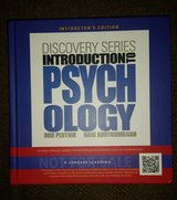 Instructor's Edition Discovery Series Introduction to Psychology Textbook 2013 in Chicago, Illinois