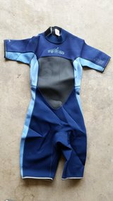 Jobe Wet Youth Wet Suit 7-8 BLUE (used) CA 02952 RN 0103840 in Aurora, Illinois