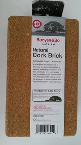 Banyan and Bo Natural Cork Brick - Yoga by Gaiam New in Aurora, Illinois