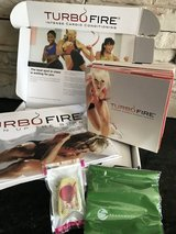 Beach Body's Turbo Fire 15 DVD set in Pearland, Texas