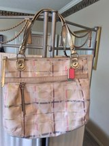 ***Beautiful Large COACH Handbag & Wallet***Like New in Kingwood, Texas