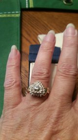 Heart diamond ring in Spring, Texas
