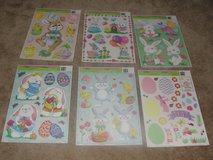 "BRAND NEW ""EASTER"" CLING ON WALL WINDOW DECORATION SHEETS SET OF 6 in Camp Lejeune, North Carolina"