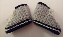 crochet bootie grey in Elgin, Illinois