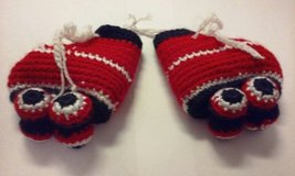 crochet roller skate red 1 in Elgin, Illinois